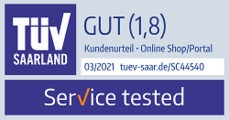Siegel TÜV Service tested